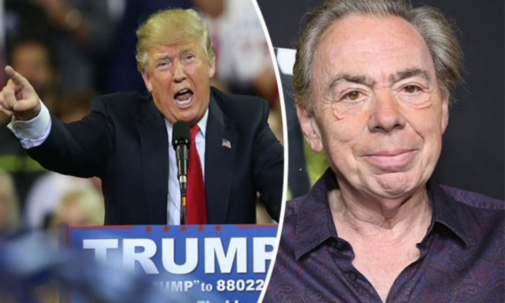 Lloyd Webber insisted Trump didn't come to Broadway School of Rock