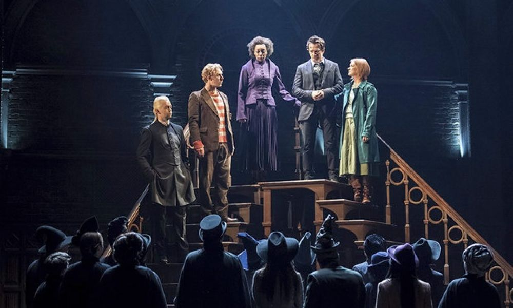 """<div><strong><span style=""""font-family: Impact,Charcoal,sans-serif;"""">First Night: Harry Potter and the Cursed Child Parts One And Two</span></strong></div>"""