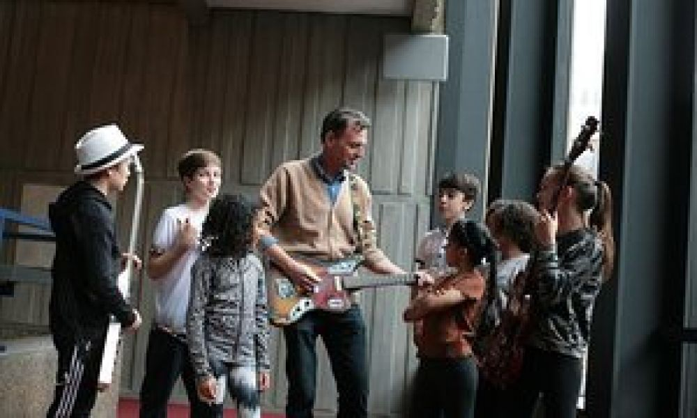 I'm with the band: jamming with the kids from School of Rock