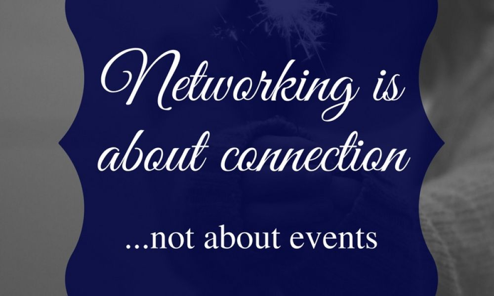 You Don't Need Networking Events