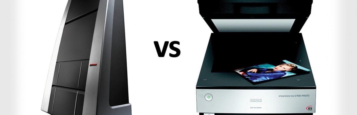 A $16,000 Photo Scanner vs. a $500 Scanner