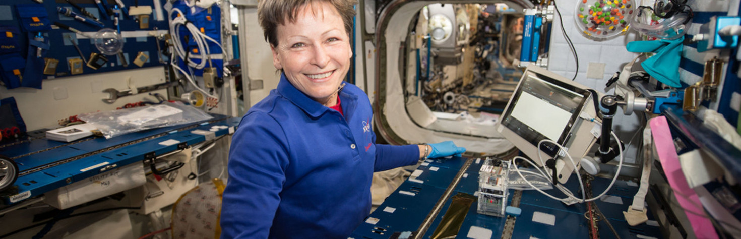 Astronauts Identify Mystery Microbes in Space for the 1st Time