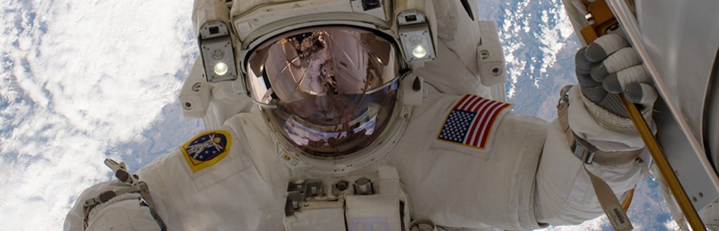 Astronauts Prep for Spacewalk and Check Science Gear
