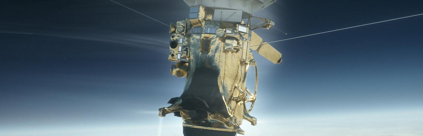 Cassini Battled Saturn Hard During Death Dive
