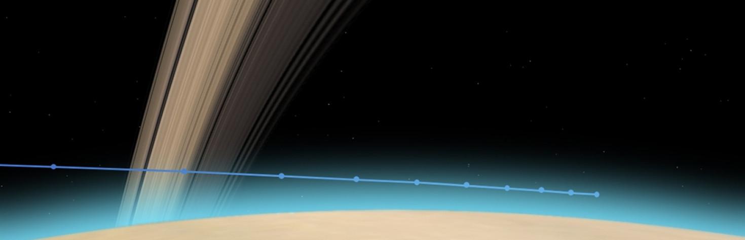 Cassini Significant Events 9/13/17 - 9/19/17