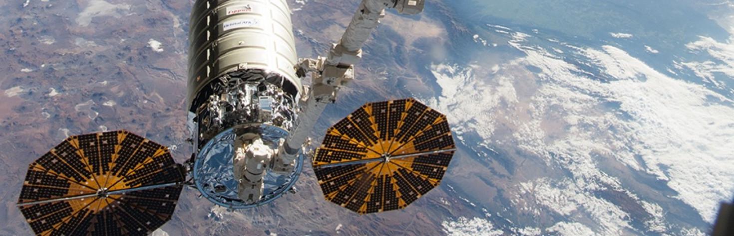 Cygnus Cargo Craft Leaves Station Wednesday Morning