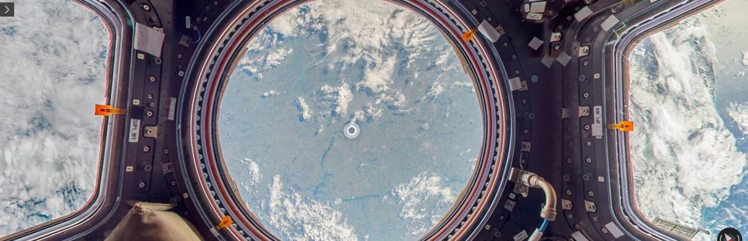 Explore the International Space Station with Google Street View