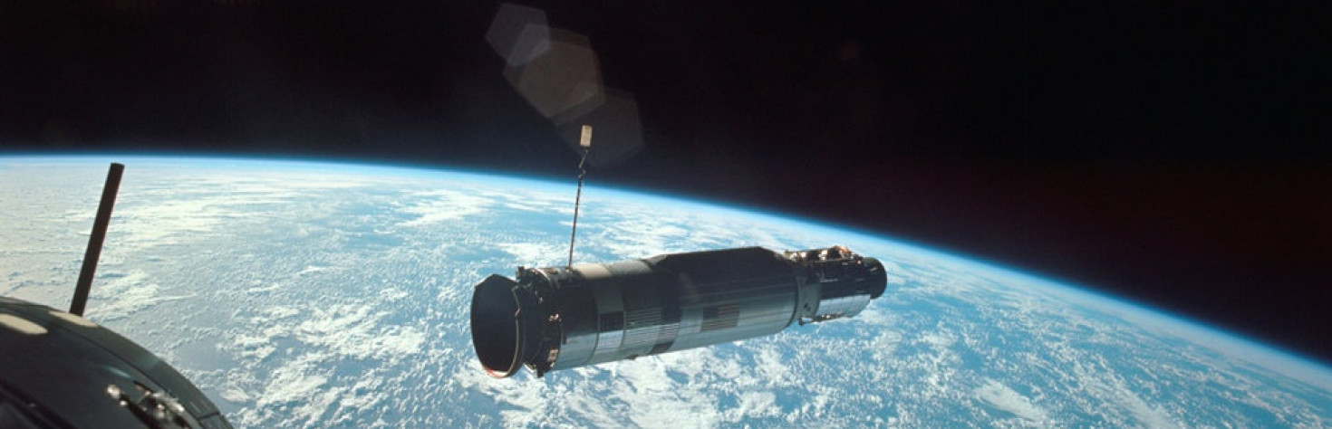 Gemini 10: NASA`s Epic 1st Double Rendezvous Mission in Photos
