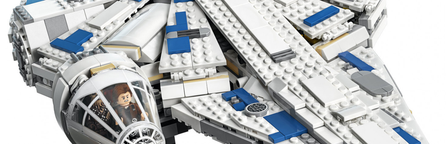 In Photos: Lego`s Kessel Run Millennium Falcon