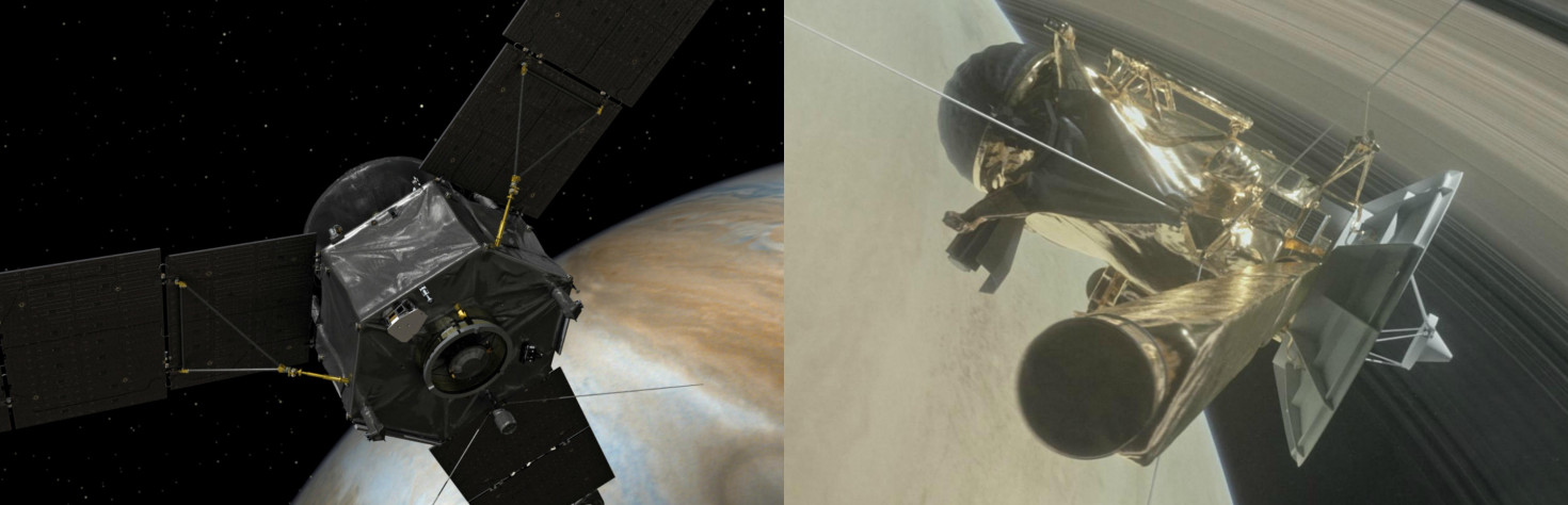 Juno vs. Cassini: Battle of the Planetary Probes