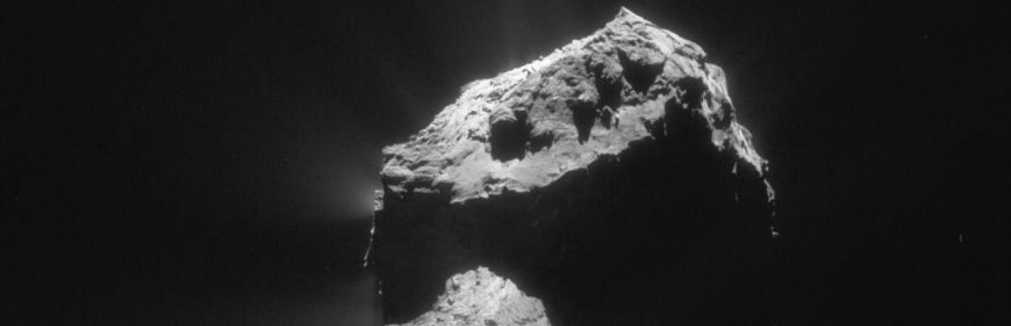 Kometen: Das Geheimnis der Staubfontänen