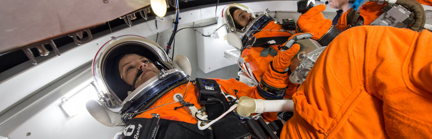 NASA`s New Spacesuit Has a Built-In Toilet