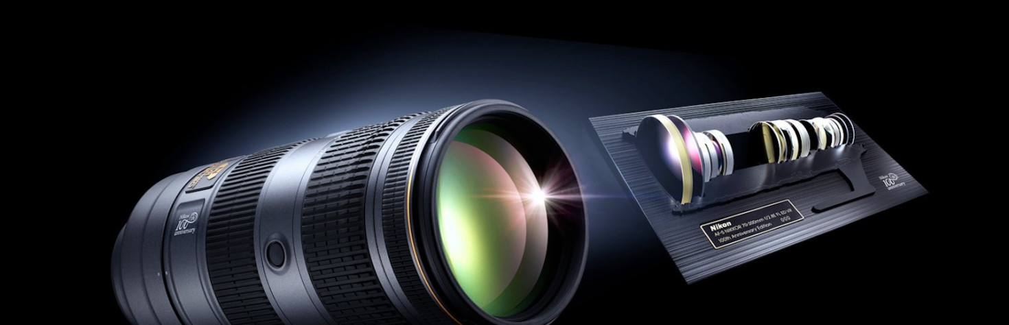 Nikon Unveils 100th Anniversary Cameras, Lenses, and... Other...