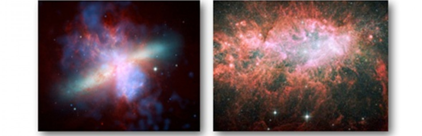 Spitzer Reveals Ancient Galaxies` Frenzied Starmaking - NASA Spitzer Space Telescope