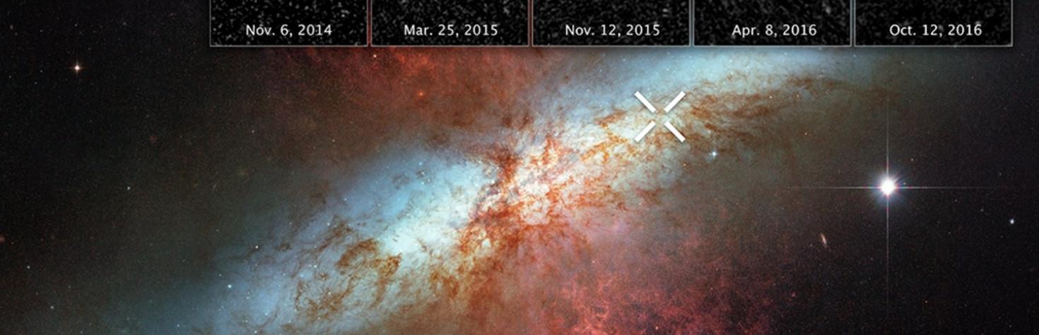 Supernova`s Expanding `Echo` of Light Captured by Hubble Telescope