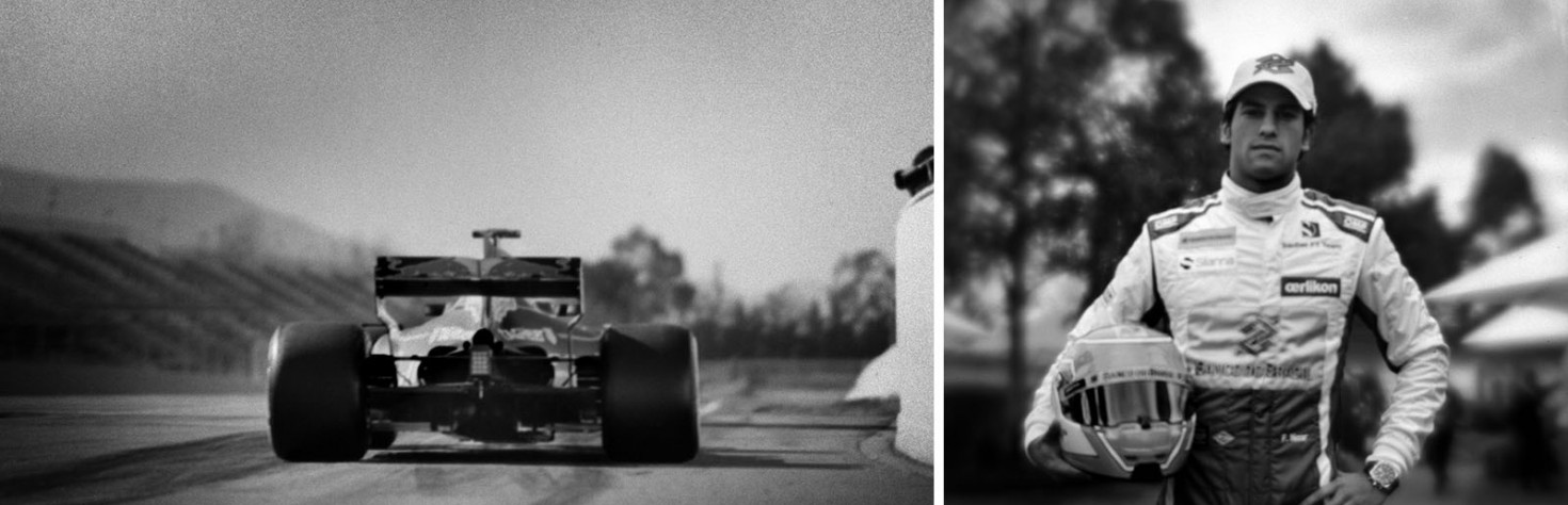 The Photographer Who Shoots F1 with a 1913 Camera