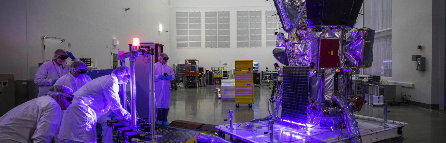 Watch Purple Lasers Light Up NASA`s Parker Solar Probe in Test