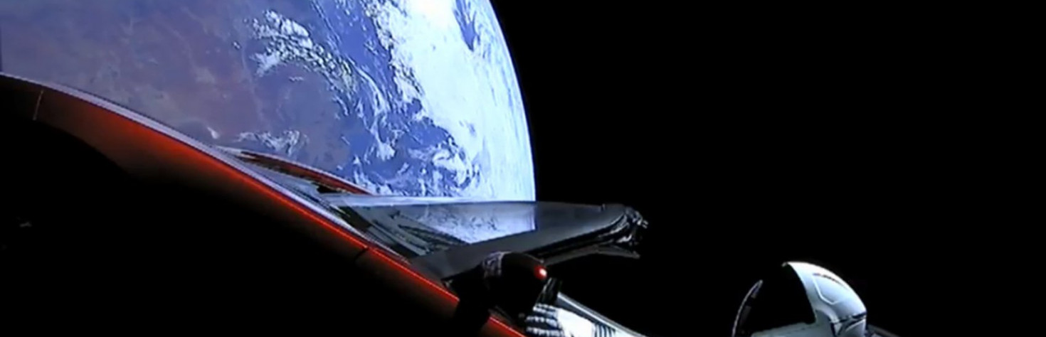 Yup, Flat-Earthers Think the Falcon Heavy Launch Was a Conspiracy