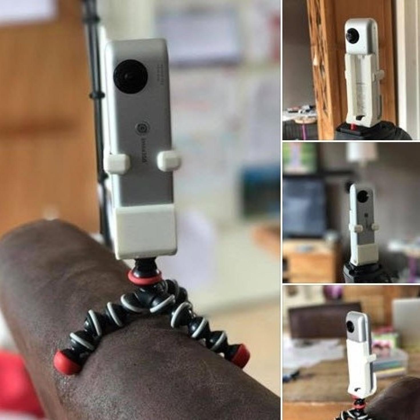 3D printed Insta360 Nano tripod adapter