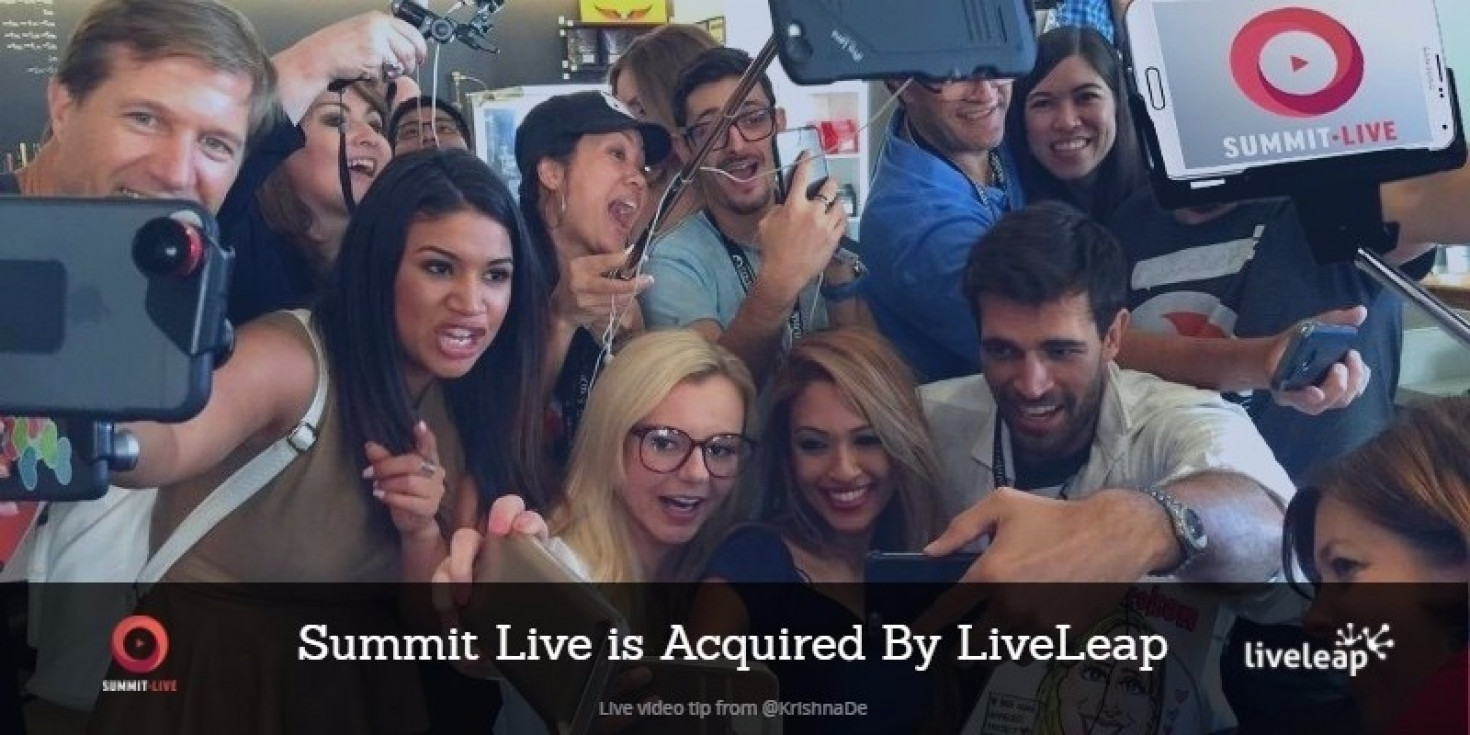 Summit Live is sold to LiveLeap