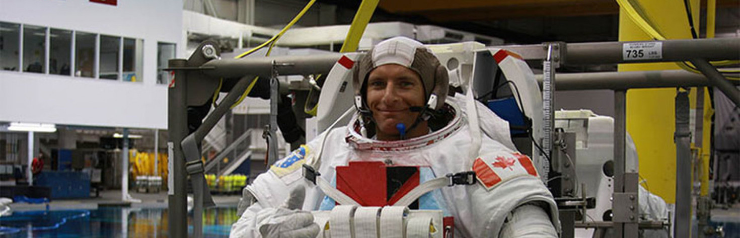 Space Aging and Psychology Among Experiments for Canadian Astronaut