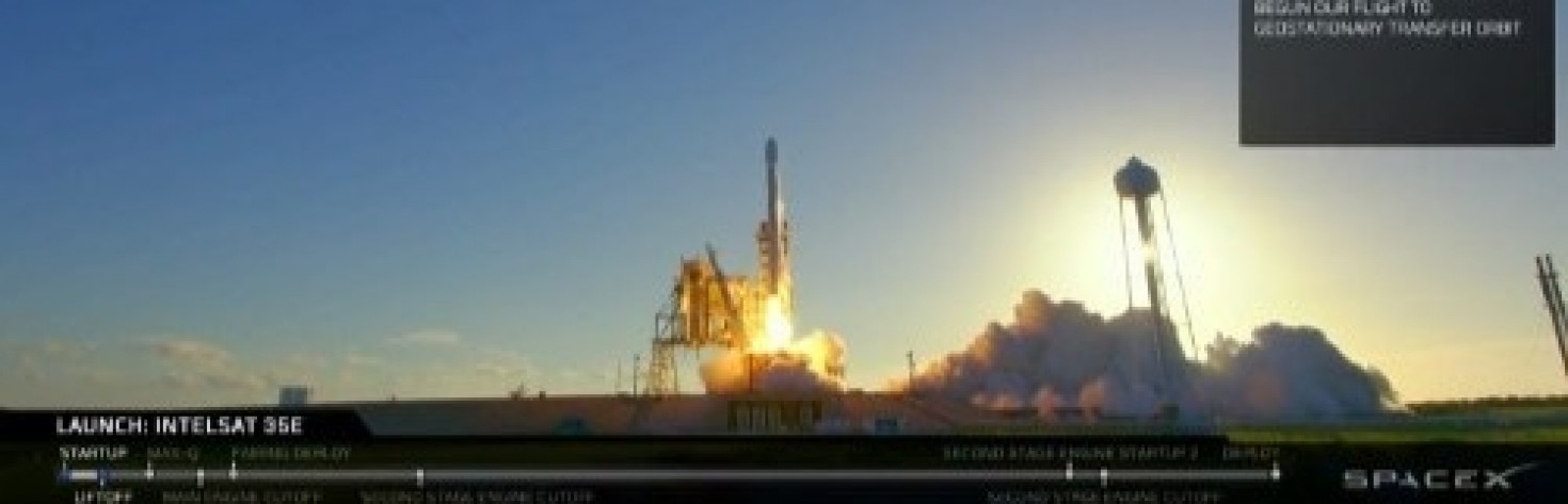 SpaceX Launches Intelsat 35e