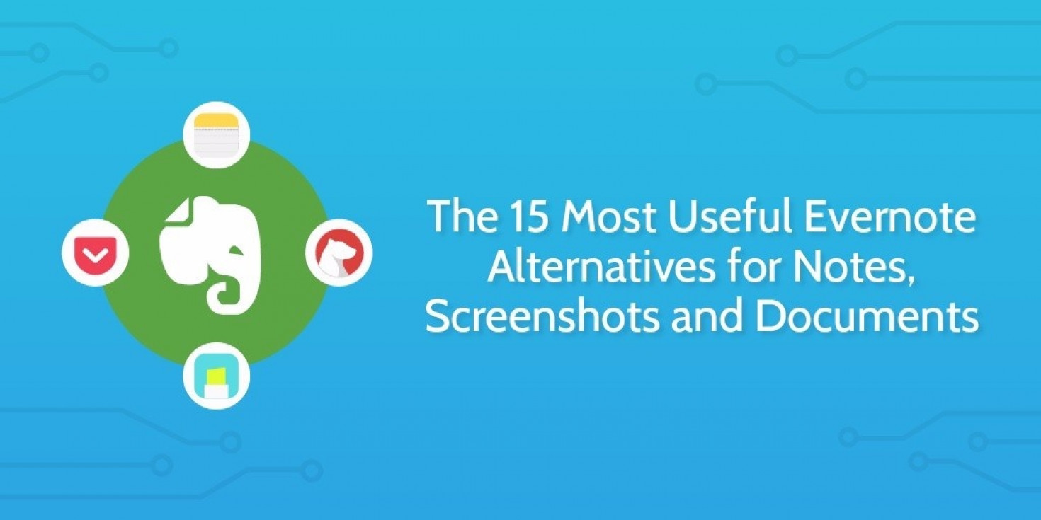 The 15 Most Useful Evernote Alternatives for Notes, Screenshots...