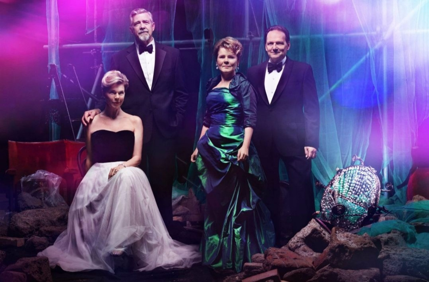 Theater geeks are freaking out about Sondheim`s lavish London Follies