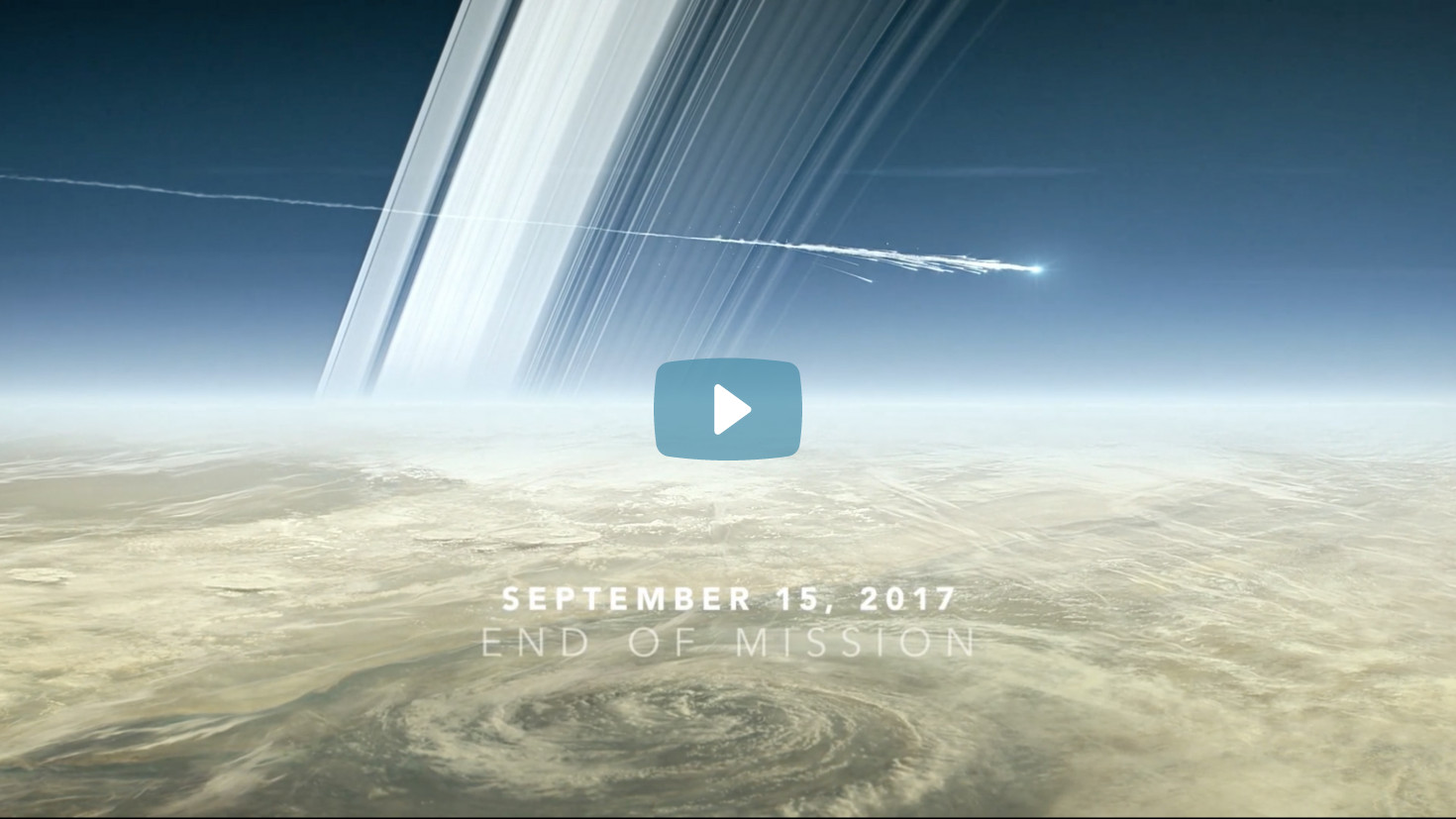 NASA at Saturn: Cassini`s Grand Finale