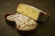 Nothing says spring like this Easter dove-shaped bread