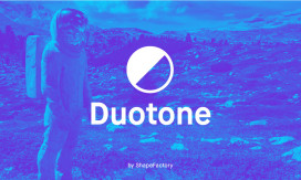 4. Duotone by ShapeFactory | Beautiful Free Duotones