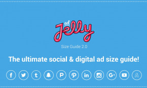adJelly - The ultimate social & digital ad size guide