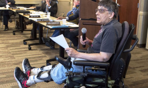 Disabled afraid of Medicaid rewrite, fear they'll be sent to nursing homes