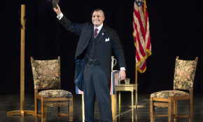 Woodrow Wilson comes to life for WWI at Pueblo Memorial Hall