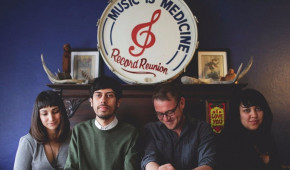 Front Row: Haunted Windchimes playing arts center April 14