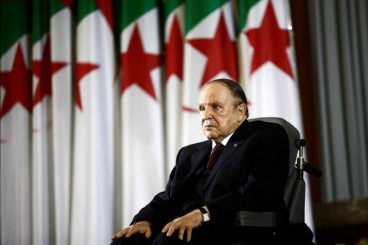Algeria president makes video appearance after month of health rumors