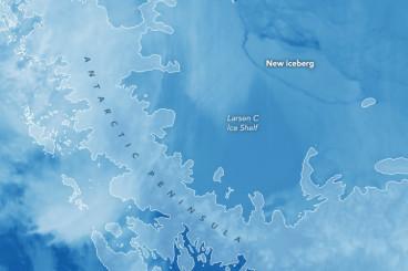 Antarktis: Riesen-Eisberg abgebrochen