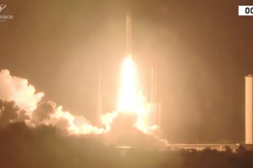Ariane 5 Rocket Delivers Satellites, NASA GOLD to Orbit Despite Launch Anomaly
