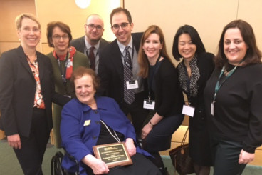 Kelleher Awarded for Contributions to Nongovernmental Nuclear Policy Community