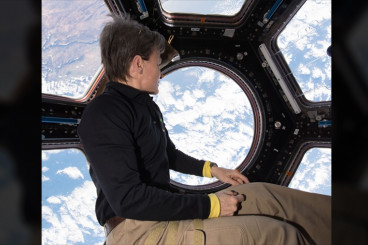 Crew Tests Lower Body Suit to Protect Vision; Soyuz Rocket Rolls...
