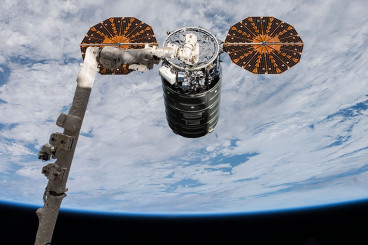 Cygnus Open for Business; Crew Unloading New Bacteria, Plant and Tech Studies