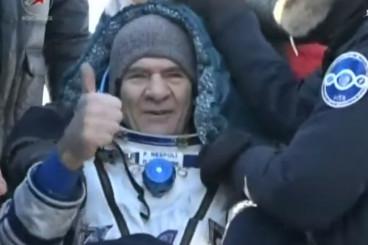 ISS: Paolo Nespoli zurück auf der Erde