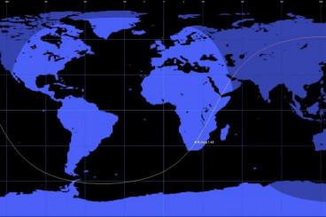 Re-Entry: Molniya 1-44 Communications Satellite