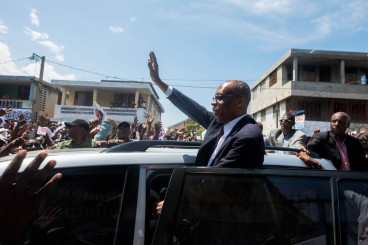 Shots fired at former President of Haiti Aristide
