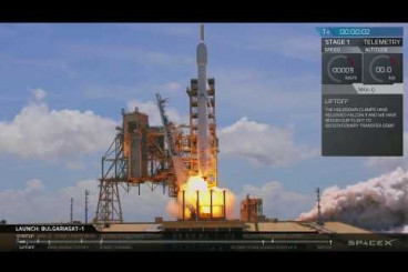 SpaceX Falcon 9 Launches & Lands Again (BulgariaSat-1 Mission)