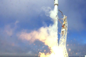 Video: Falcon 9 Launches FormoSat-5 & 1st Stage Lands on Pacific...