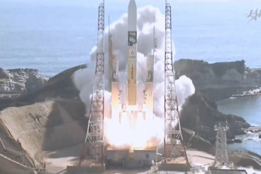 Video: H-IIA Rocket Lifts Off with GCOM-C & SLATS Satellites