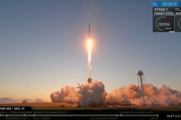 Video: Third SpaceX Falcon 9 Re-Use Mission