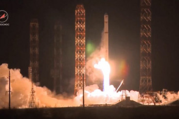 Video: Zenit Blasts Off with Angola`s 1st Communications Satellite