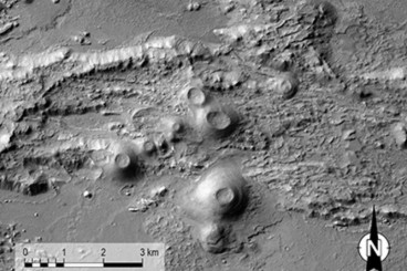 Volcanic Eruptions Rocked Mars` Huge Canyon, Study Finds